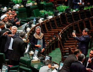 There's a Selfie-gate Scandal Going on in Iran's Parliament Right Now