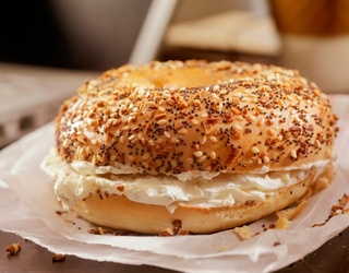 How Does an Everything Bagel Donut With a Side of Everything Bagel Coffee Sound?