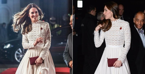 Kate Middleton Shows a Little Thigh at Film Premiere