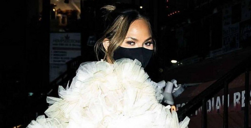 Chrissy Teigen Is Auctioning off a High-Fashion Shirt for Her Followers' Most Embarrassing Moments