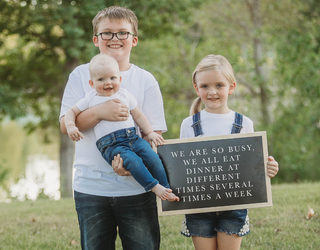 This Mom Called out the Mommy-Shamers in an Adorable Photoshoot