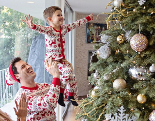 Already Famous: These Holiday Households Are Rife With Snow, Matching PJs and Christmas Cheer