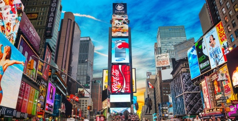 Tuesday's Waste of Time Travel: Times Square, Because Obviously