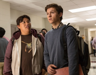 """Jacob Batalon Owns a Tom Holland """"Umbrella""""-Inspired Hoodie to Fans' Absolute Delight"""