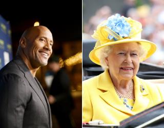 "Dwayne ""The Rock"" Johnson and Queen Elizabeth II: Secret Football Buddies?"