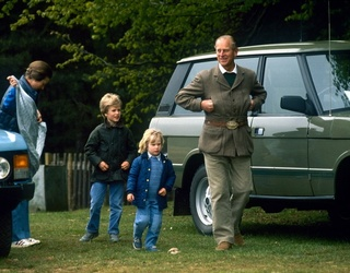 HRH Throwback: Prince Philip and His Grandkids at the Royal Windsor Horse Show