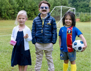 This Halloween Mom is Back With the Best DIY Pop Culture Kids' Costumes