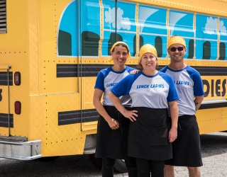 Food Network Lunch Lady Gives Back to Community Through Healing Power of Food
