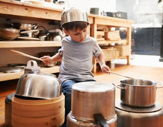 Feel Like a Kid Again and Unscramble This Pots and Pans Puzzle