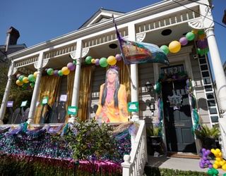 New Orleans Finds a Way to Celebrate a Canceled Mardi Gras With House Floats