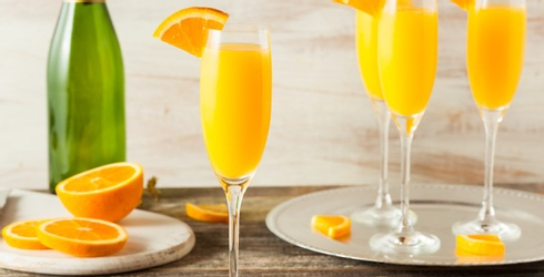 Drink up the History of the Mimosa