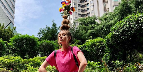 Flower Vase Hair Is the Latest Trend in High Fashion Florals, and We're Oddly Here for It