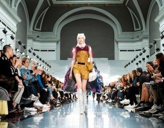 Yellow Shines Bright at Paris Fashion Week