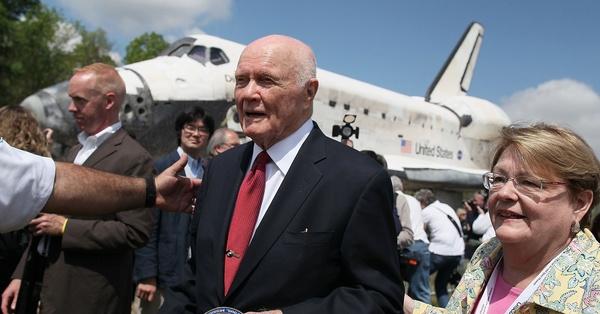 John Glenn Passes Away; Famous Astronaut was 95