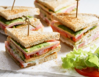 Monday Memory Madness: How Well Do You Stack up Against These Club Sandwiches?