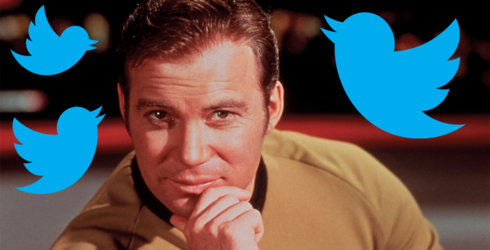 William Shatner's Twitter Is an Oasis of Dad Jokes in a Sea of Trolls