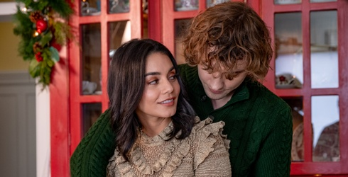 """Were You Paying Attention to Vanessa Hudgens' Wardrobe in """"The Knight Before Christmas""""?"""
