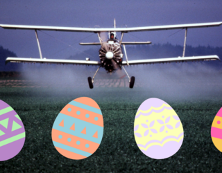 Easter Egg Hunt Goes Horribly Wrong After Crop Duster Drops Herbicide-Laced Candy for Kids