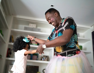This Puzzle of a Grandfather Dancing With His Granddaughter Is Tutu Cute