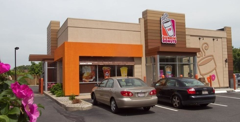 Dunkin' Donuts Could Be Adding Curbside Pickup to Their List of Perks