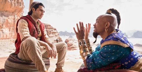 """Will Smith Pays Tribute to Robin Williams's """"Aladdin"""" Genie"""