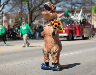 Best Wedding Ever: Bride Gives Maid of Honor OK to Wear T-Rex Costume