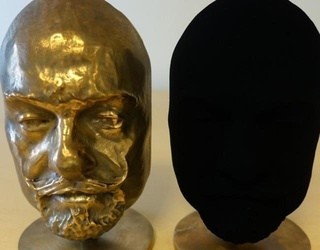 This Object Sprayed With the World's Darkest Color Looks Like a Portal to Another Dimension