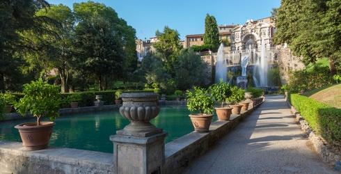 Make a Splash as You Unscramble This Photo of Italy's Tivoli Gardens