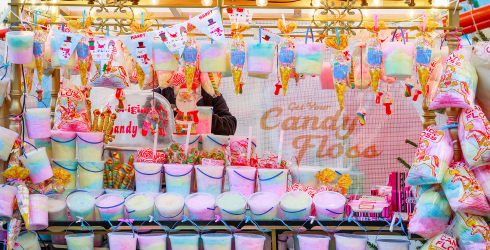 Cure Your Sweet Tooth With This Cotton Candy Spot the Difference!