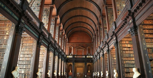 Shhh! Voices Low While You Solve This Trinity College Library Puzzle