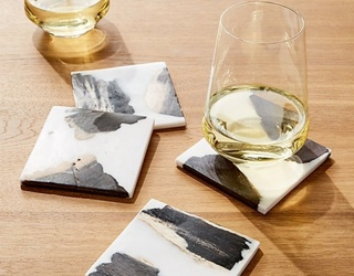 Brig's Buys: Water Rings Are So out of Style, but These Coasters Aren't