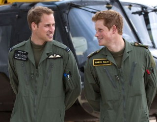 William and Harry's Sweetest Moments as Brothers