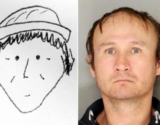 World's Vaguest Crime Scene Sketch Surprisingly Leads to an Arrest