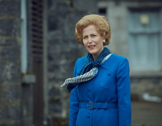 """Does Gillian Anderson Overdo It as Margaret Thatcher On """"The Crown""""?"""