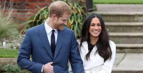 Prince Harry and Meghan Markle Pose for Engagement Photos, Then Walk Off Into the Sunset