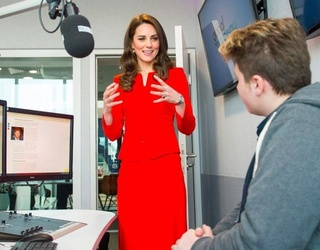 Kate Middleton Admits to Motherhood Insecurities, Moms Everywhere Breathe a Sigh of Sweet Relief