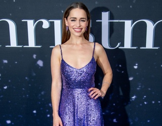 """The """"Last Christmas"""" Red Carpet Proved That Emilia Clarke Can Wear Anything She Pleases"""