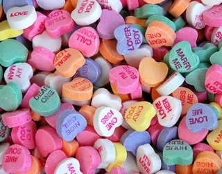 Be Mine, but Only If You Can Spot the Differences in These Conversation Hearts Photos