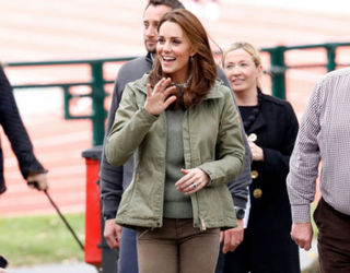 Kate Middleton is Back From Maternity Leave and Her Hair Looks Fantastic