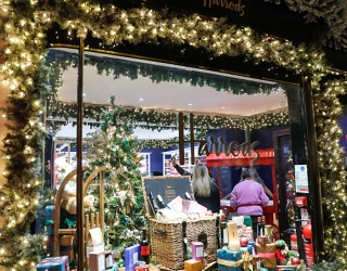 Travel Tuesday: London's Burlington Arcade Turns on Its Historic Christmas Display