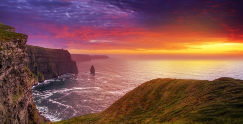 Irish You The Best of Luck on This Cliffs of Moher Puzzle!