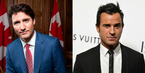 In Shocking Twist, Justin Trudeau and Justin Theroux Are Not the Same Person