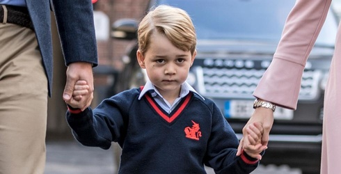 Prince George Is All of Us on His First Day of School