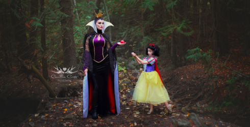 This Mother Is Turning Her Daughter Into Disney Princesses Through Elaborate Photoshoots