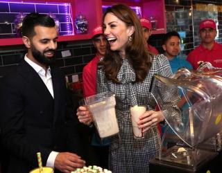 Kate Middleton Creates the World's Most Perfect Milkshake (Probably)