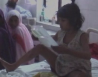 A Young Girl Was Found Living With Monkeys in an Indian Forest