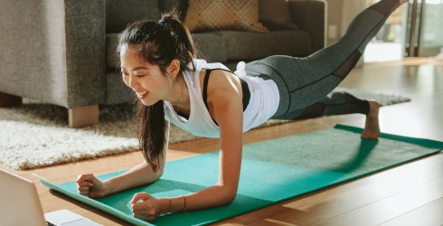 Tell Us About Your Workout Routine and We'll Help You Figure out How to Exercise From Home