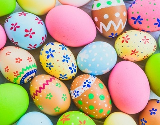 Show off Your Easter Egg Decorating Skills With This Puzzle