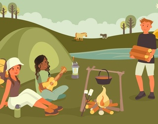 Can You  Find the Differences in These Camping Pictures?