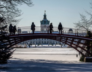 Piece Together the Wintry Beauty of Charlottenburg Palace Gardens